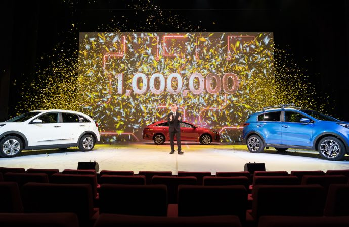 Kia delivers its one millionth car sold in the UK