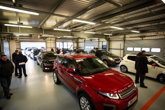 city auction group enjoys multi million pound success at rockingham dual lane launch car. Black Bedroom Furniture Sets. Home Design Ideas