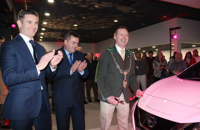 Dorchester Nissan officially opens doors of transformed showroom