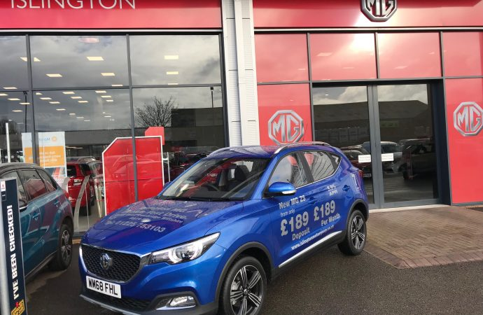 MG strengthens network with appointment of Islington Motor Group