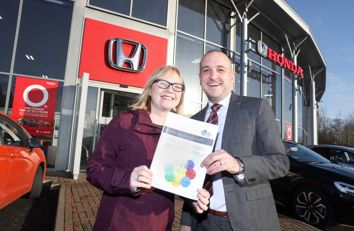 Vertu Honda Newcastle drives towards autism-friendly dealership