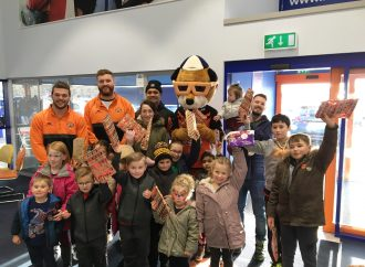 Motorpoint ice rink raises thousands for hospice