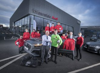 Wearside Audi supports young footballers with new kits and study help