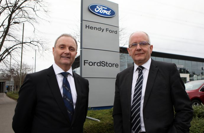 Hendy FordStore launched in Eastleigh by Andy Barratt