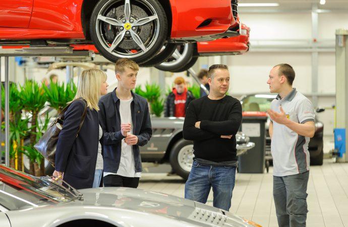 Open days will showcase Ferrari apprenticeship opportunities