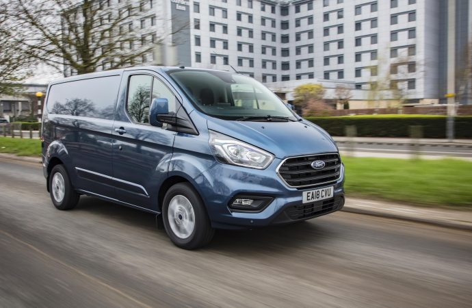 New van market grows by 8.6 per cent