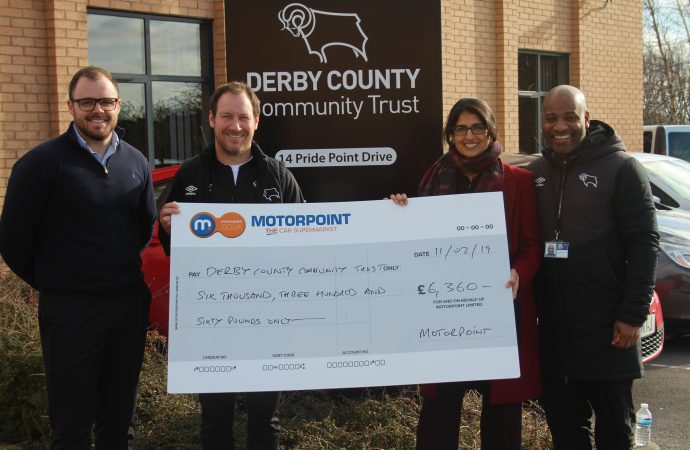 Motorpoint staff sleep-out raises more than £6,000 for charity