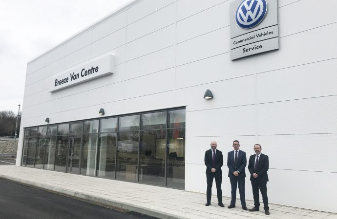 New Volkswagen Commercial Vehicles outlet makes van maintenance a 'Breeze'