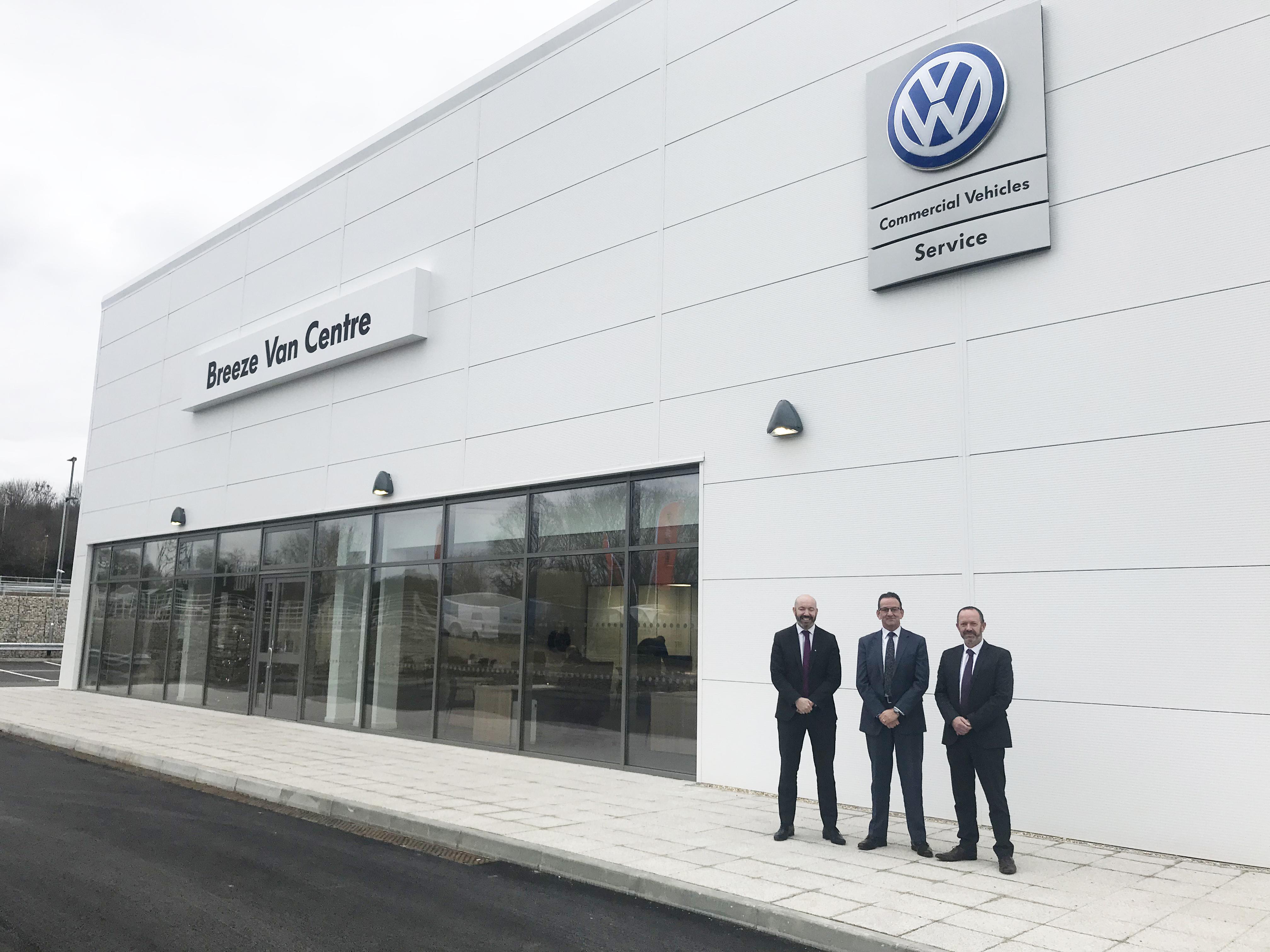 823bc64988 New Volkswagen Commercial Vehicles outlet makes van maintenance a  Breeze   - Car Dealer Magazine