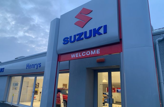 Henrys opens state-of-the-art Suzuki dealership in Glasgow after £800,000 investment