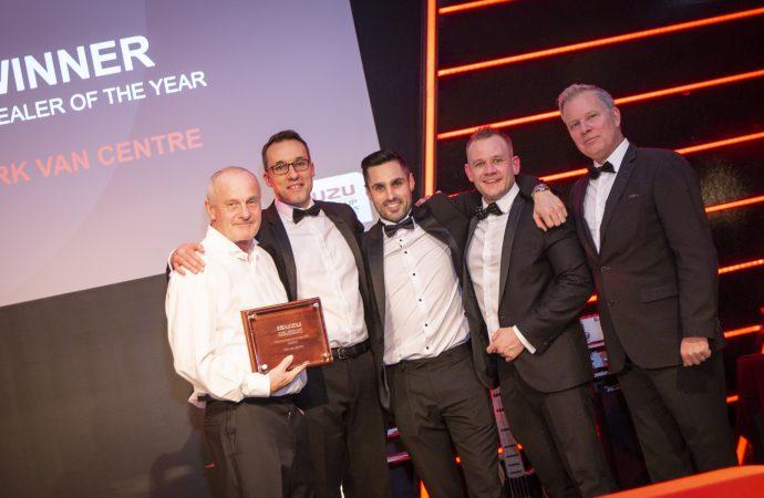 Top Isuzu dealers recognised at prestigious annual awards ceremony