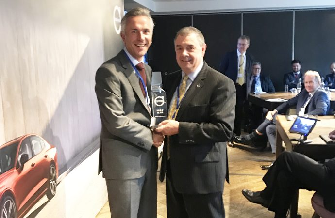Clelands of the Borders crowned best Volvo dealer in the UK