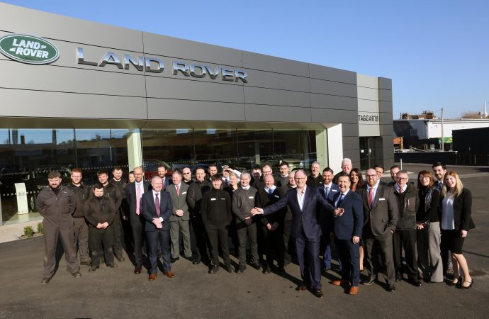 New £4m Land Rover dealership opens after a challenging year