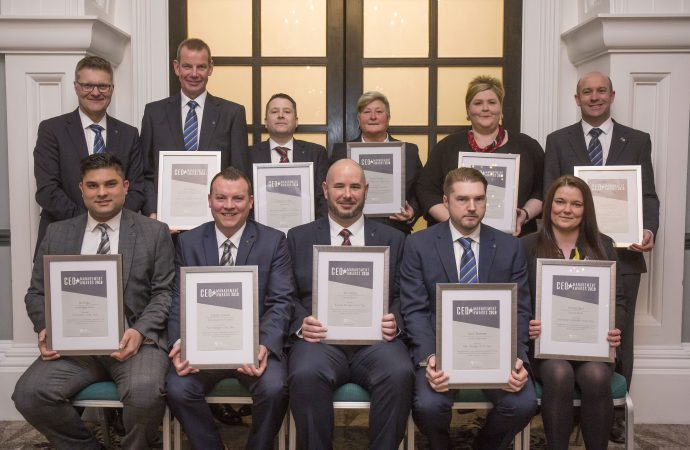 Game-changing colleagues honoured at Vertu's annual awards