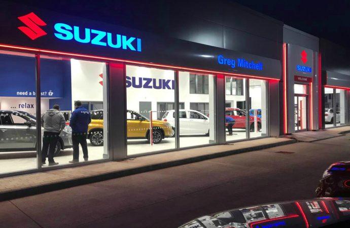 Magnificent seven dealerships for Suzuki in Northern Ireland