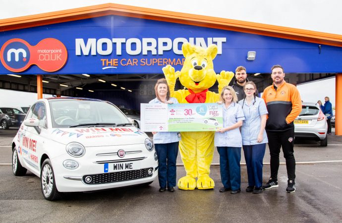 Sweet! Motorpoint teams up with Haribo to help boost hospice funds