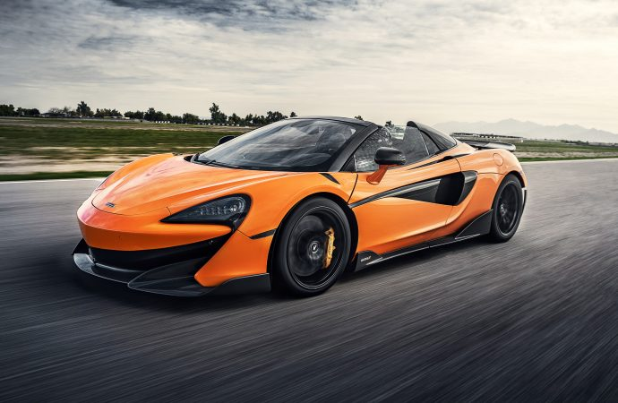 First Drive: McLaren 600LT Spider: A stripped-back, track-orientated supercar