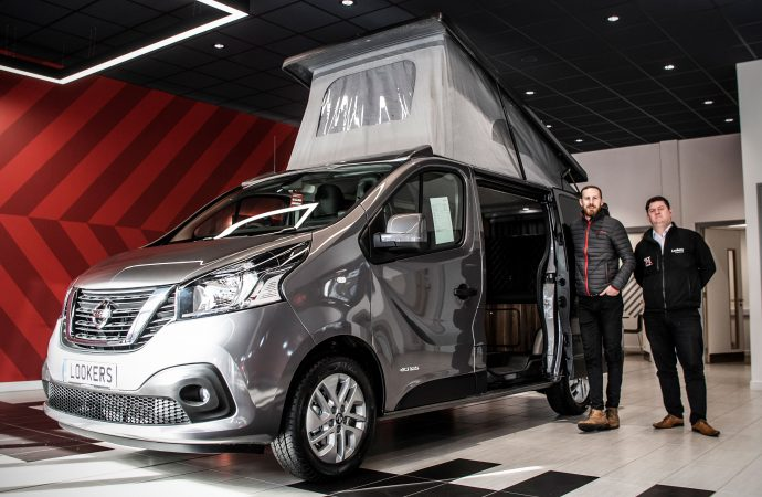 Lookers Nissan taps into 'staycation' boom with new conversion service