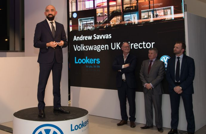 Lookers shows off next generation of VWs at new £10m London site