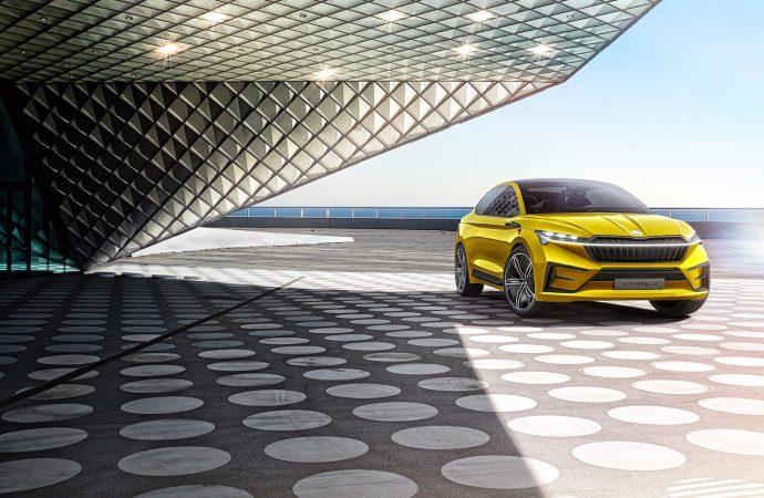 Geneva 2019: Skoda previews first EV with Vision iV concept