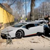 VIDEO: Disaster for Lamborghini driver after dealership supercar event