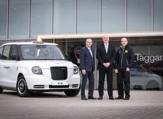 LEVC appoints Glasgow's first franchised electric taxi dealer