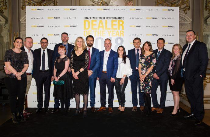 Renault's top UK dealers win European recognition