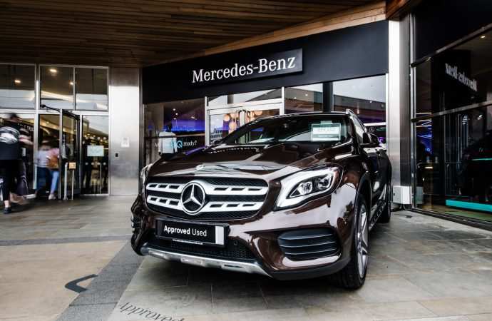 Mercedes-Benz pop-up shop opens in East Anglia