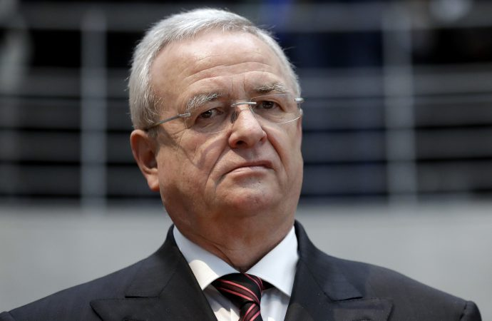 Volkswagen's former chief executive charged with fraud over dieselgate