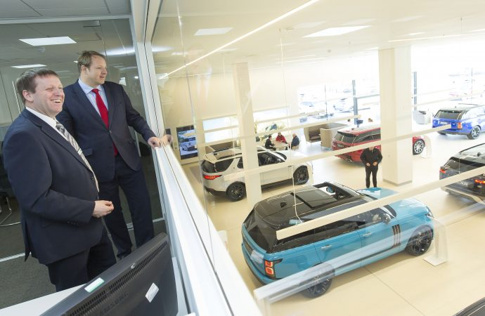 MP praises Chesterfield Land Rover retailer's £5.4m investment