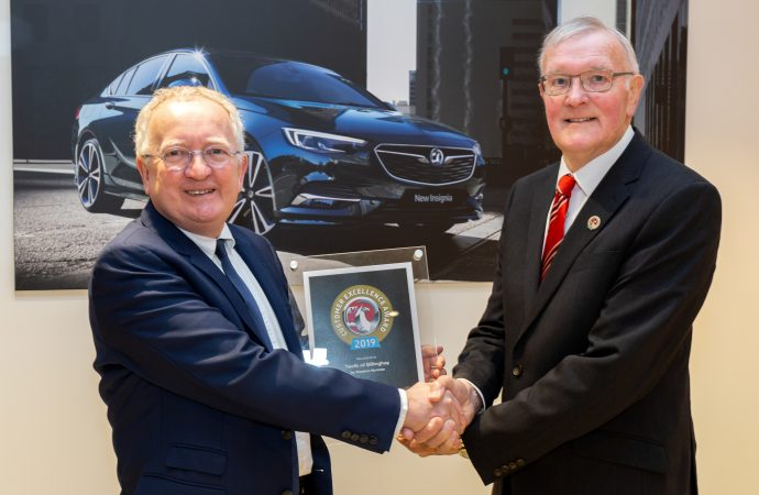 Twells of Billinghay comes top in Vauxhall customer excellence surveys