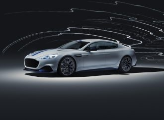 Shanghai Motor Show: All-electric Aston Martin Rapide E uncovered
