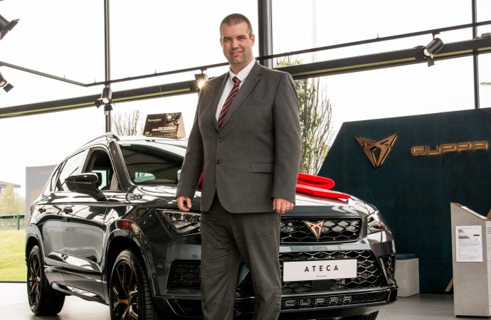 Mark in the hot seat as general manager of Birmingham dealership