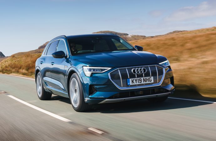 First Drive: Audi e-tron, the manufacturer's first all-electric model