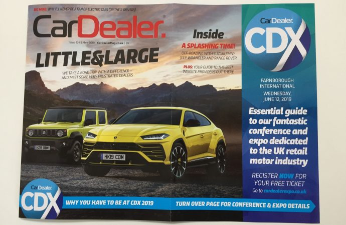 Download the magnificent May edition of Car Dealer Magazine – it's only £1.99!