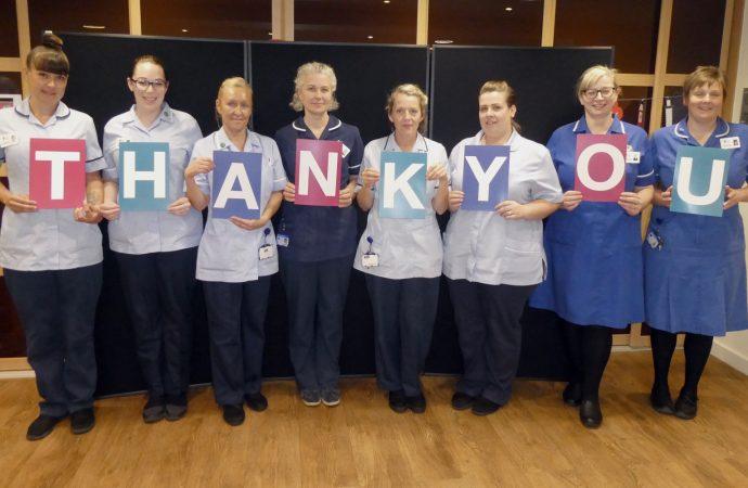 G3 celebrates Nurses' Day with £40,000 pledge
