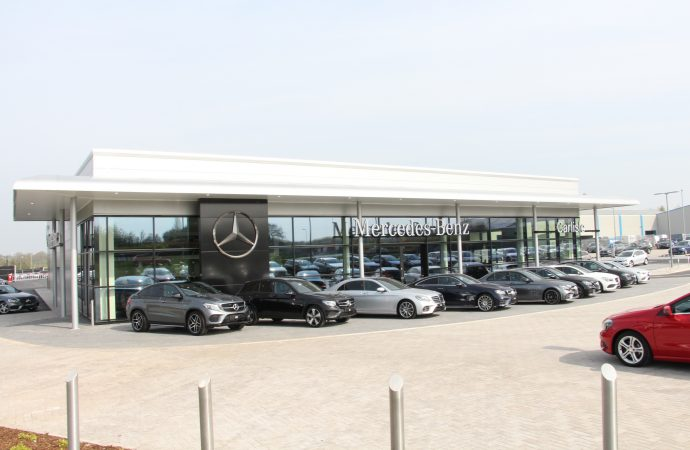 Jobs Boost As Mercedes Benz Of Carlisle Opens State Of The Art