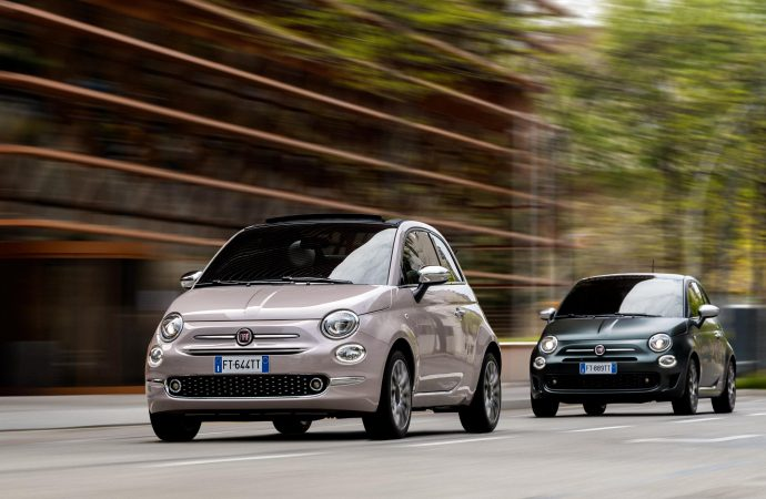 Star and Rockstar specifications added to Fiat 500 range