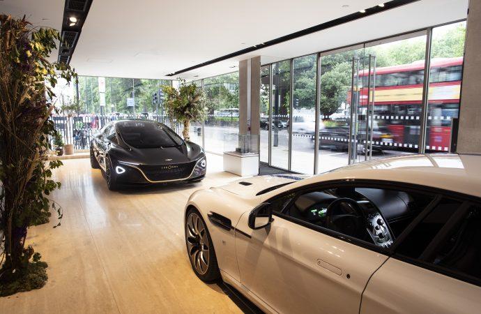 Aston Martin Lagonda showcases its electric future in London