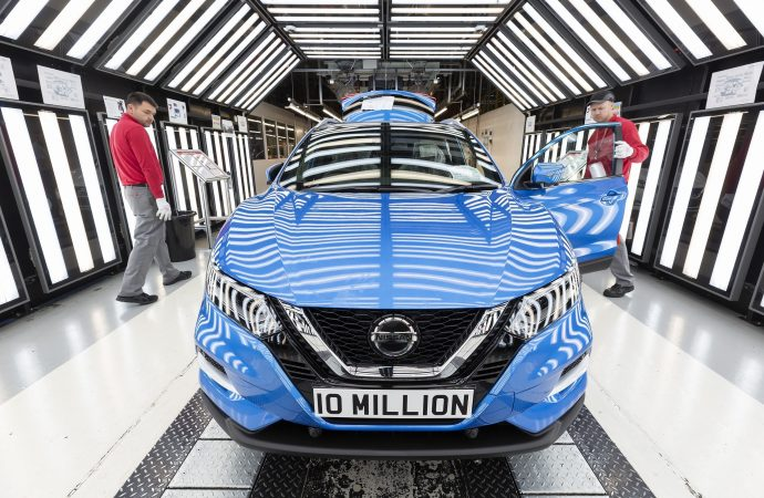 Landmark for Nissan as 10 millionth car rolls off production line