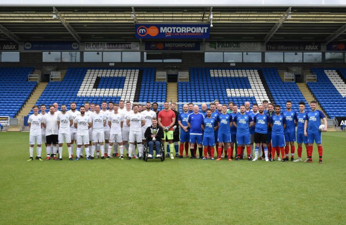 Charity football match helps Motorpoint reach fundraising goal