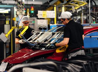 Car production declines in January despite improvement in exports