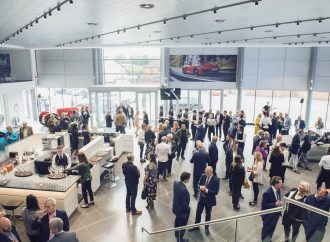 Porsche GB boss joins hundreds of guests to celebrate opening of Preston centre