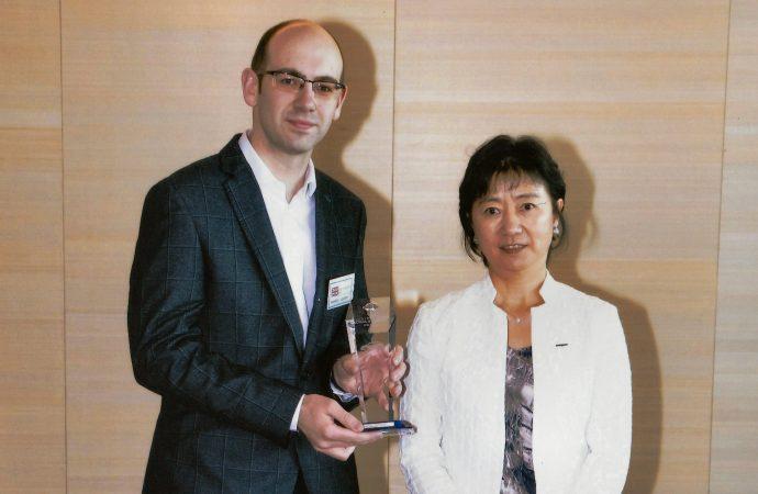 Alex F Noble & Son wins top Nissan prize for EV efforts