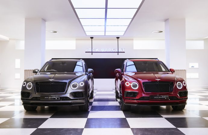Bespoke Bentaygas weave Bentley Mulliner and Savile Row together for double centenary