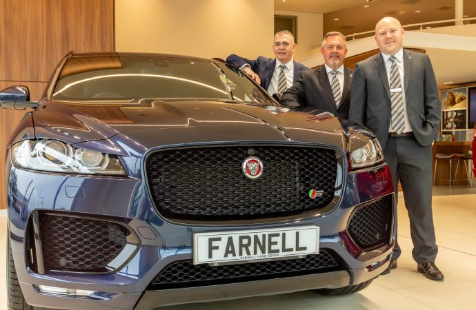 Jaguar joins Land Rover at Farnell Guiseley after £4m showroom refurb