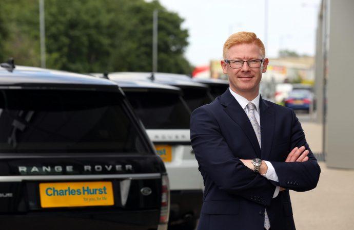 New head of business at £8m Charles Hurst JLR dealership