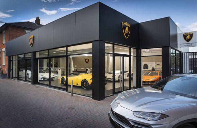 Lamborghini Opens New Look Dealership In Pangbourne Car Dealer
