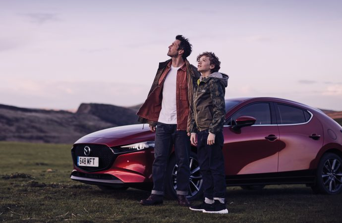 Lights, camera, action! A Mazda star is born…