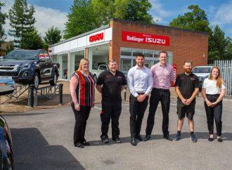 Isuzu adds seven dealerships to UK network